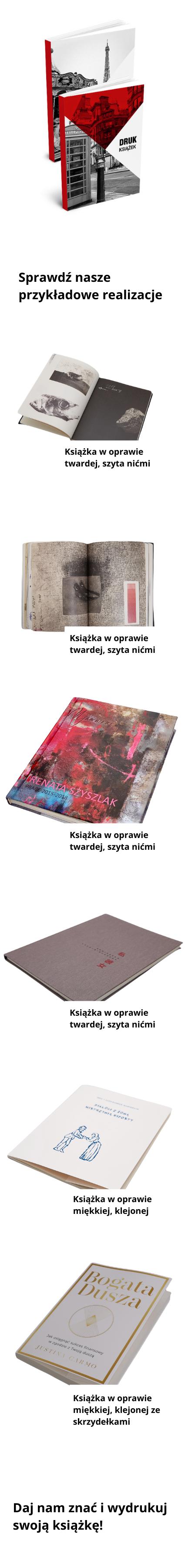 druk książek rzeszów