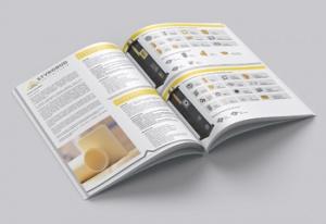 Wydruk katalogów Styrobud