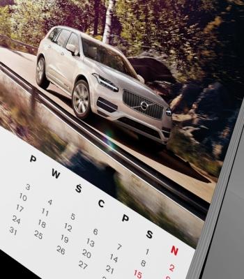 Volvo kalendarz piramidka